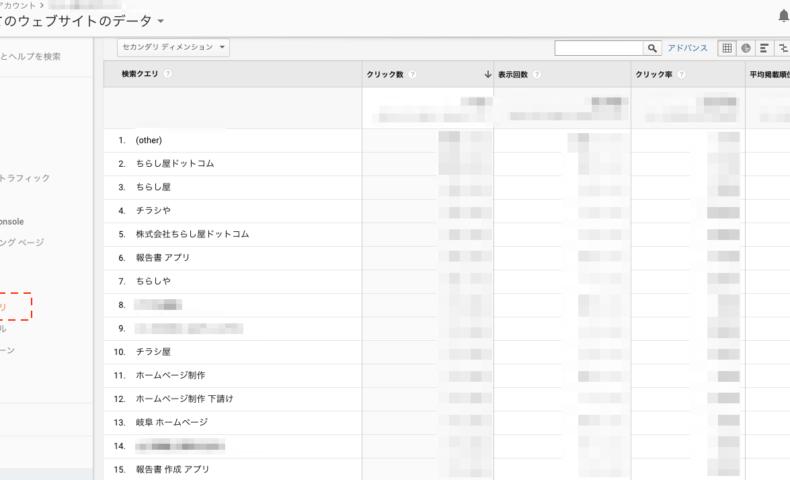 Google Analyticsで検索キーワードが見れなくなってしまった時の代打策。